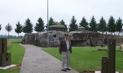 Birney at Hatten, France at Maginot Line