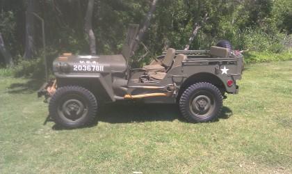 Joe's 1944 WWII Willys MB Jeep
