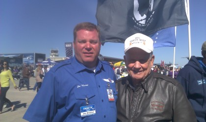 Joe and Bud Anderson WWII P51 Mustang Pilot