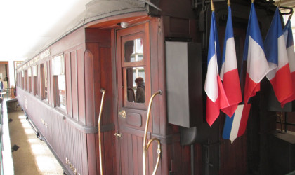 Rail Car WWI Compiegne Forest