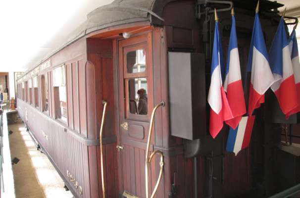 Rail Car WWI Compiegne Forest